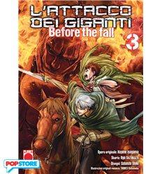 L'Attacco Dei Giganti Before The Fall Manga 003
