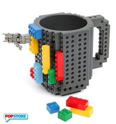 Build On Brick Mug Grey
