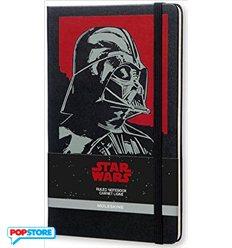 Moleskine Star Wars - Darth Vader Grande A Righe