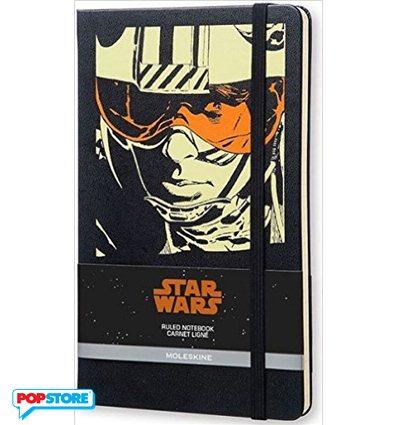 Moleskine Star Wars - Luke Skywalker Grande A Righe