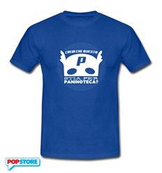 QUINDICI - T-Shirt P For Paninoteca Blu Royal