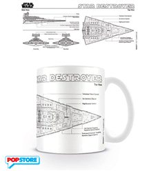 Star Wars - Star Destroyer Sketch (Tazza)