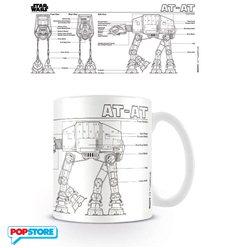 Star Wars - At At Sketch (Tazza)
