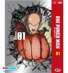 One-Punch Man 001 - Edizione Limitata E Numerata - Episodi 01-04