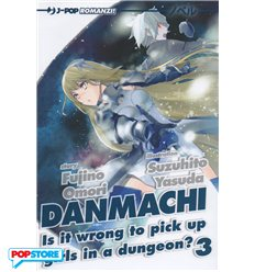 Danmachi Light Novel 003
