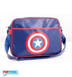 Cotton Division Gadget - Marvel - Captain America - Borsa A Tracolla Shield Logo