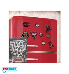 Marvel Gadget - Fridge Magnets Set Avengers
