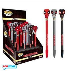 Funko Pop! Pen - Marvel Comics - Deadpool Display 16 Pezzi