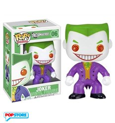Dc Universe - Pop Funko Vinyl Figure 06 Joker 10 Cm