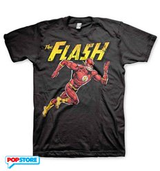 DC Comics T-Shirt - The Flash Running L