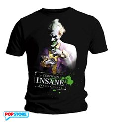 DC Comics T-Shirt - Joker Arkham City XL