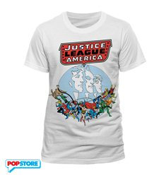 DC Comics T-Shirt - Justice League Of America Vintage L