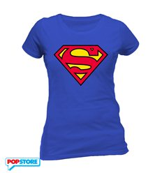 DC Comics T-Shirt - Superman Logo Womens L