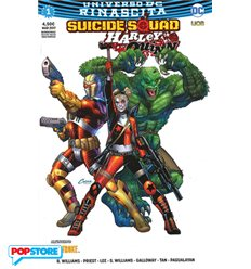 Suicide Squad/Harley Quinn Rinascita 001 Ultra Variant