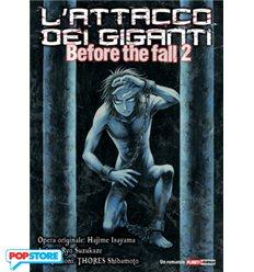L'Attacco Dei Giganti Before The Fall Romanzo 01