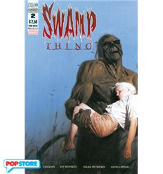 Swamp Thing di Brian K. Vaughan 002
