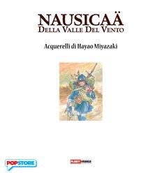 Nausicaa Della Valle Del Vento Acquerelli Di Hayao Myazaki