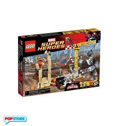 LEGO 76037 - Super Heroes Marvel - L'Alleanza Criminale Di Rhino E L'Uomo Sabbia