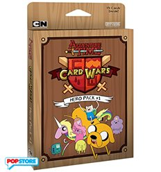 Carte Adventure Time - Hero Pack