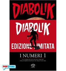 Diabolik I Numeri 1 Edizione Limitata E Numerata