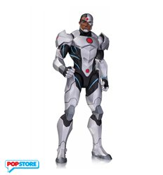 DC Direct Justice League War Cyborg Action Figure