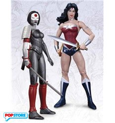 DC Direct The New 52 : Wonder Woman Vs Katana