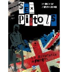 Sex Pistols, la biografia a fumetti