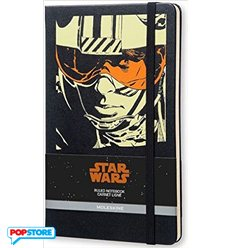 Moleskine Star Wars - Luke Skywalker Grande A Righe