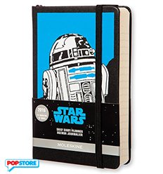 Moleskine Star Wars - R2D2 Agenda Giornaliera Piccola
