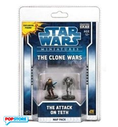 Star Wars Miniatures - The Clone Wars - The Attack On Teth