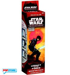 Star Wars Miniatures - Legacy Of The Force Booster Pack