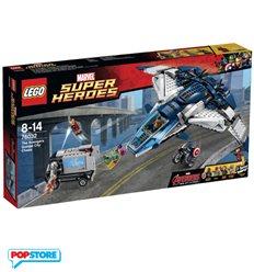 LEGO 76032 - Super Heroes Marvel - Inseguimento Sul Quinjet Degli Avengers