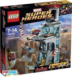 LEGO 76030 - Super Heroes Marvel - Attacco alla torre degli Avengers