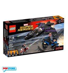 LEGO 76047 - Super Heroes Marvel - L'Inseguimento di pantera nera