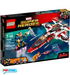 LEGO 76049 - Super Heroes Marvel - Missione spaziale dell'aven-jet