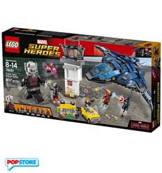 LEGO 76051 - Super Heroes Marvel - La Guerra Civile Dei Super Eroi