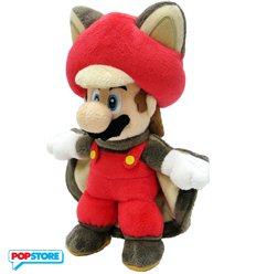 Nintendo Gadget - Peluche Mario Scoiattolo Volante 21 Cm