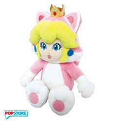 Nintendo Gadget - Peluche Principessa Peach Gatto 25 Cm