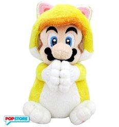 Nintendo Gadget - Peluche Piccolo Mario Gatto Con Manine Magnetiche