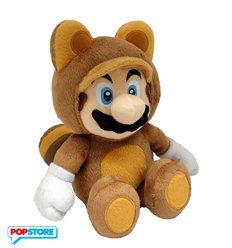 Nintendo Gadget - Peluche Mario Tanooki 21 Cm