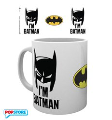 Batman Comic - I'm Batman Cowl (Tazza)