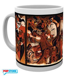 Batman Comics - Harley Quinn Villains (Tazza)