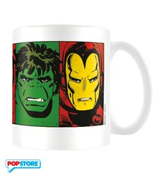 Marvel Retro - Faces (Tazza)