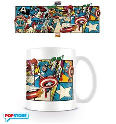 Marvel Retro - Captain America Panels (Tazza)