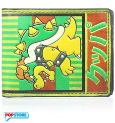 Nintendo Gadget - Bowser Kanji Bifold (Portafogli)