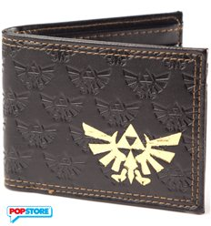 Nintendo Gadget - Zelda Emboss With Gold Foil Bifold (Portafoglio)