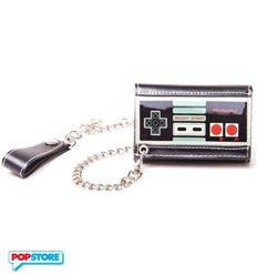 Nintendo Gadget - Controller Trifold Chain (Portafoglio)