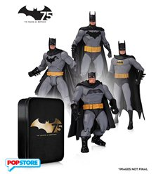 DC Direct Batman - Batman 75th Anniversary Set