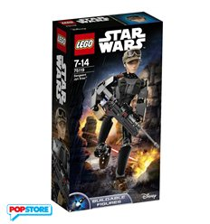 LEGO 75119 - Star Wars Buildable Figures - Sergeant Jyn Erso