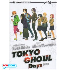 Tokyo Ghoul Novel 001 - Days
